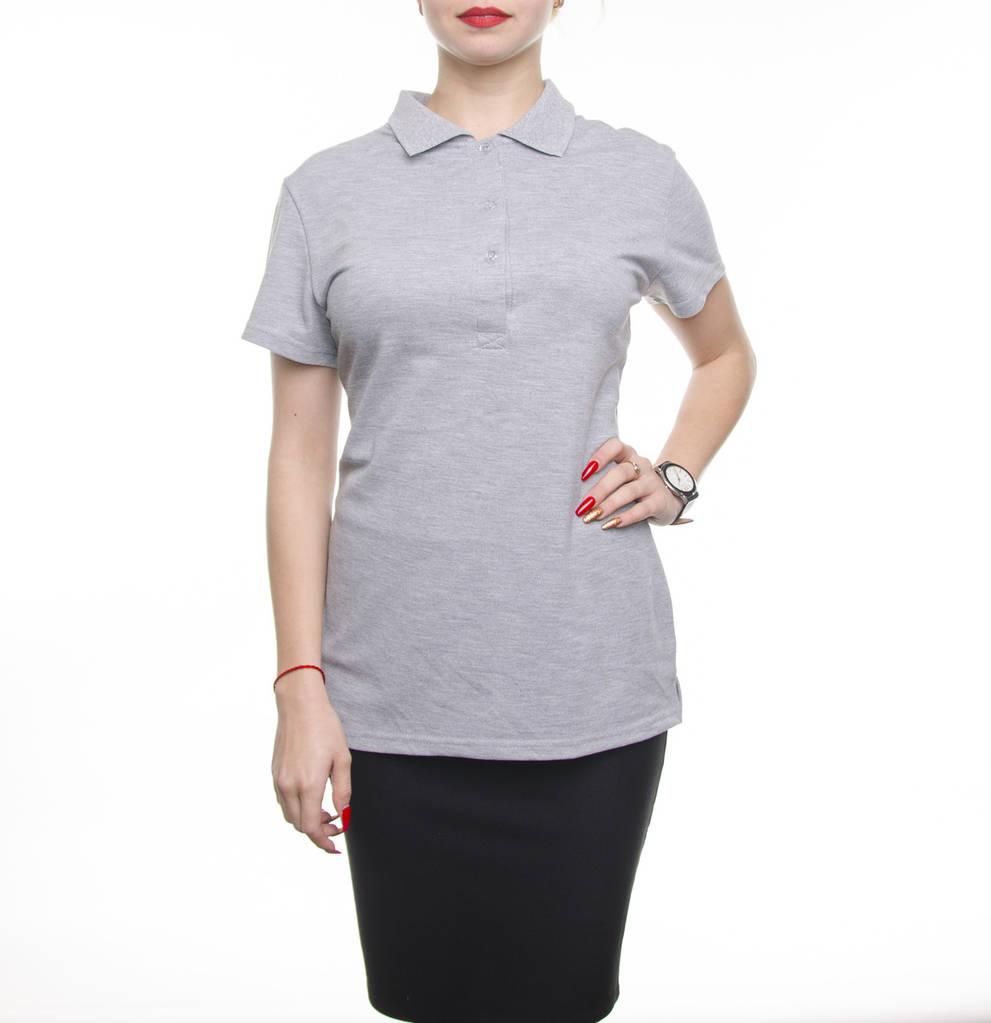 Bono Женская футболка Поло серый 400119