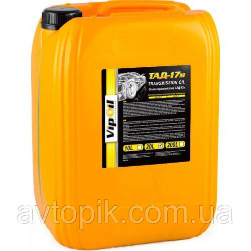Трансмиссионное масло VipOil ТАД-17м GL-4 85W-90 (20л.)