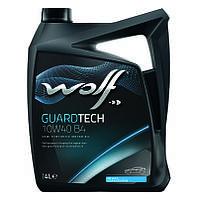 Моторное масло Wolf Guardtech B4 10W-40 (4л.)