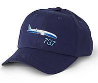 Оригинальная бейсболка Boeing 737 3D Emblem Hat 115015010665 (Navy)