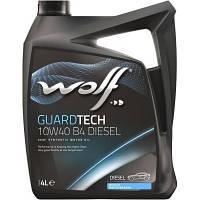 Моторное масло Wolf Guardtech Diesel B4 10W-40 (4л.)