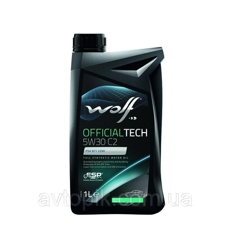 Моторное масло Wolf Officialtech C2 5W-30 (1л.)