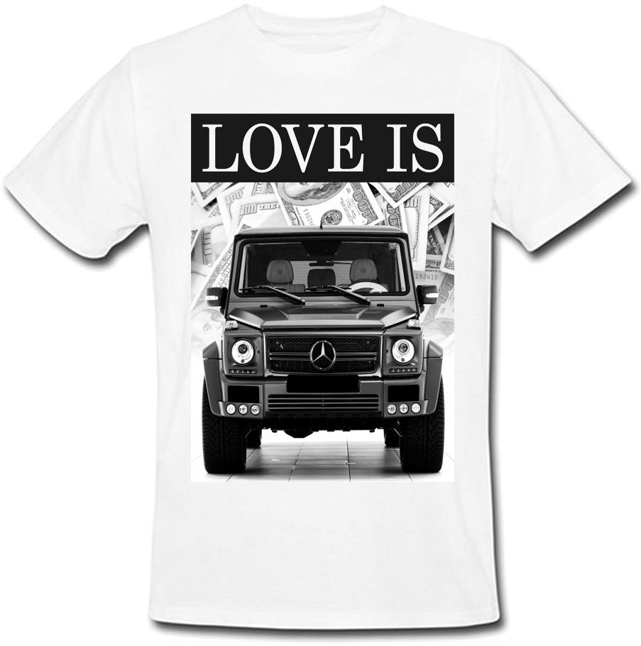 Футболка Love Is (белая)