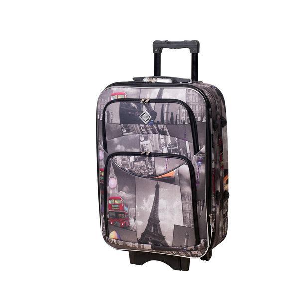 Чемодан сумка дорожний Bonro Style (средний) City