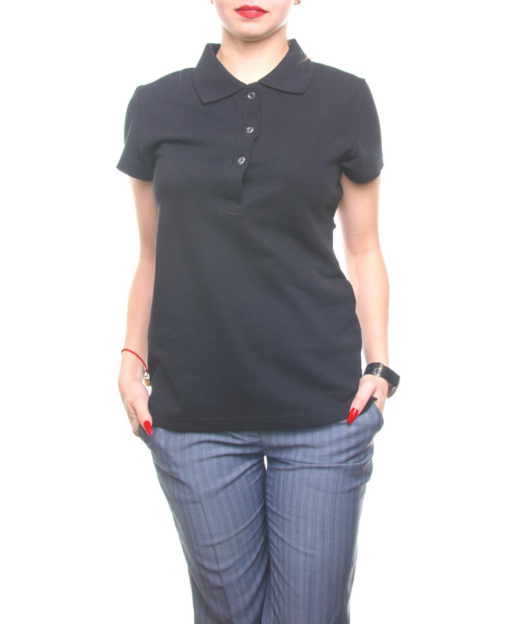 Bono Женская футболка Поло черный 400101