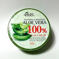 Увлажняющий гель для лица и тела с алое Ekel Aloe Vera Soothing Gel