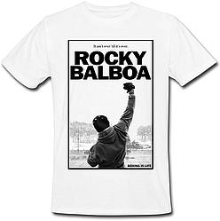 Футболка Rocky Balboa (белая)