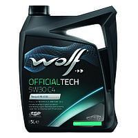 Моторное масло Wolf Officialtech C4 5W-30 (5л.)