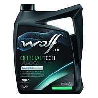 Моторное масло Wolf Officialtech C4 5W-30 (4л.)