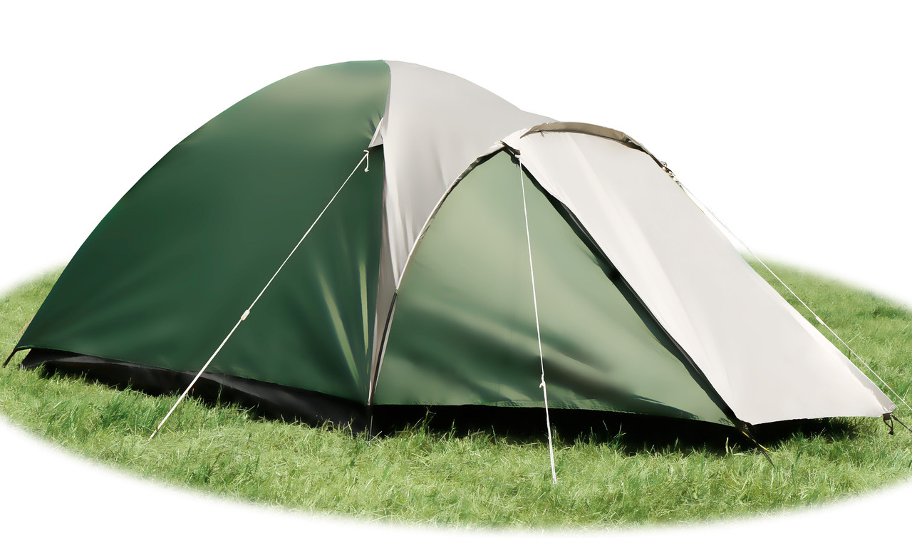 Палатка Abarqs Malwa 4, клеенные швы, 3000 мм