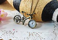 Подвеска часы модный кулон ожерелье женское праздничное подарок на новый год