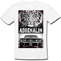 Футболка Adrenalin (белая)