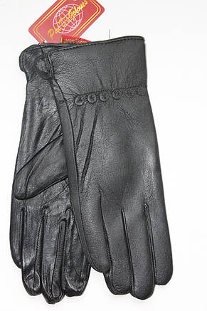 Женские кожаные перчатки МАЛЕНЬКИЕ, фото 2