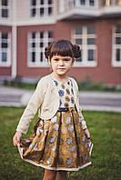 Детское платье Одуванчики (Турция) 3-5 лет