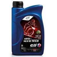 Моторное масло Elf Moto 4Т Maxi Tech 10W-30 (1л.)