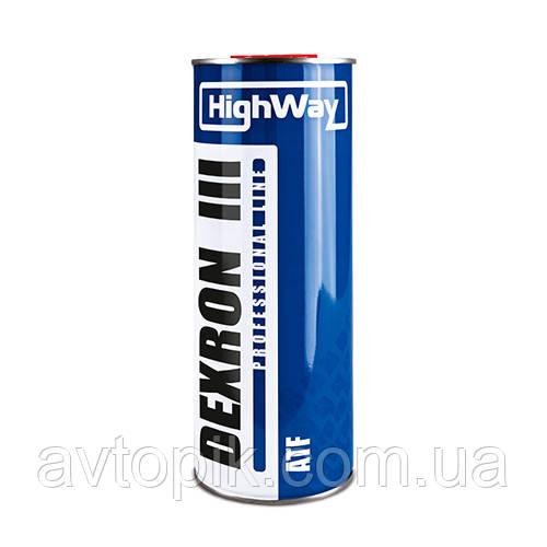 Трансмиссионное масло HighWay ATF Dex-III (1л.)