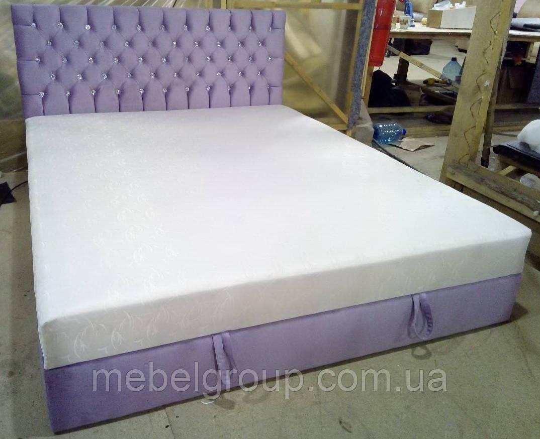 Кровать Шах 140*200 с матрасом
