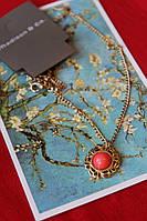 Подвеска модный кулон ожерелье женское праздничное подарок на новый год, 8 марта