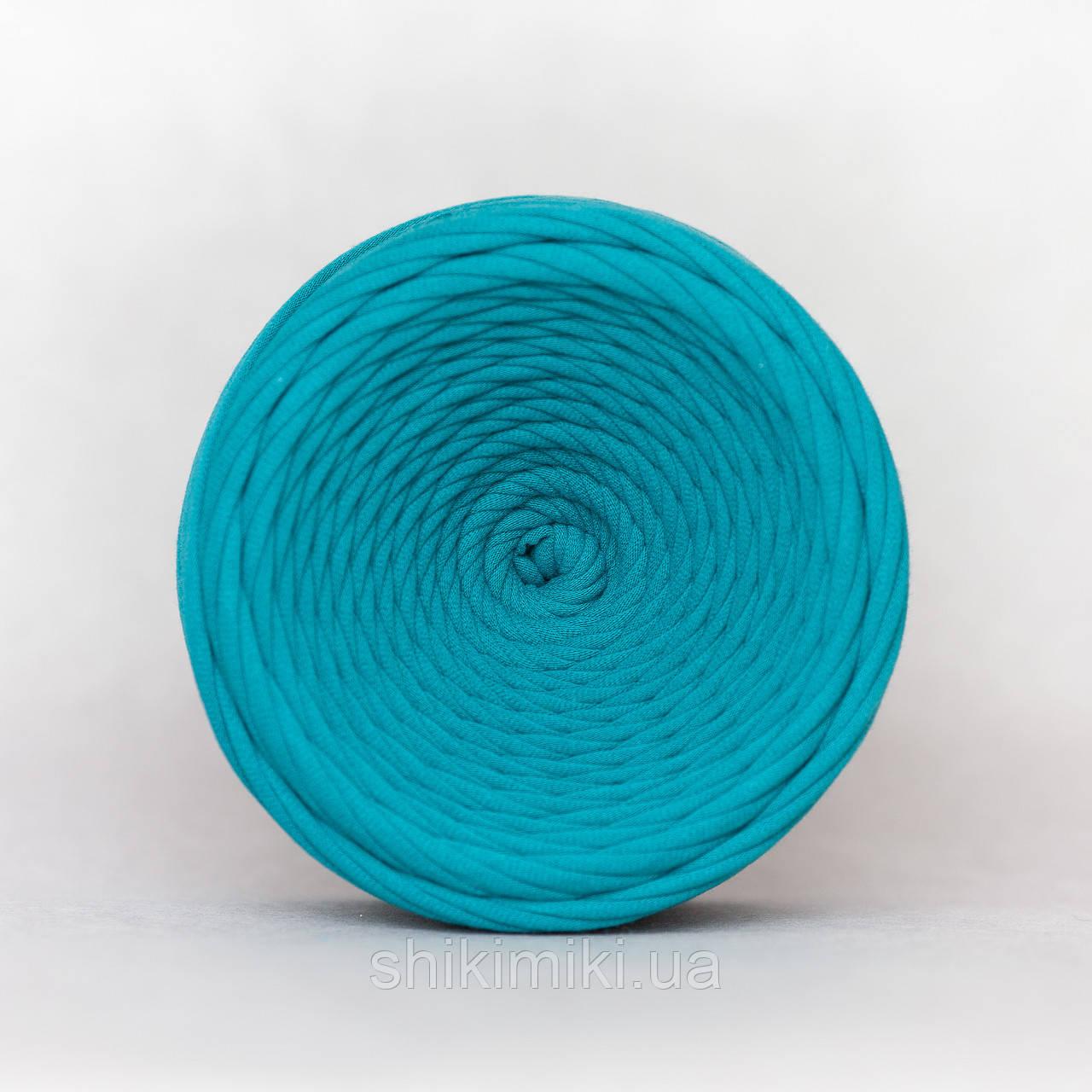Трикотажная пряжа (50 м), цвет Голубая Лагуна