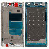 Середня частина корпусу для смартфону Huawei P8 Lite ALE-L21 біла/ золота