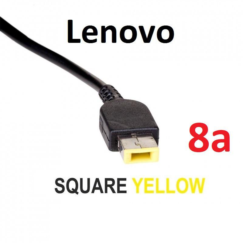 Кабель для блока питания ноутбука Lenovo Square с иглой (до 8a) (T-type)