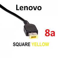 Кабель для блока питания ноутбука Lenovo Square с иглой (до 8a) (T-type), фото 1