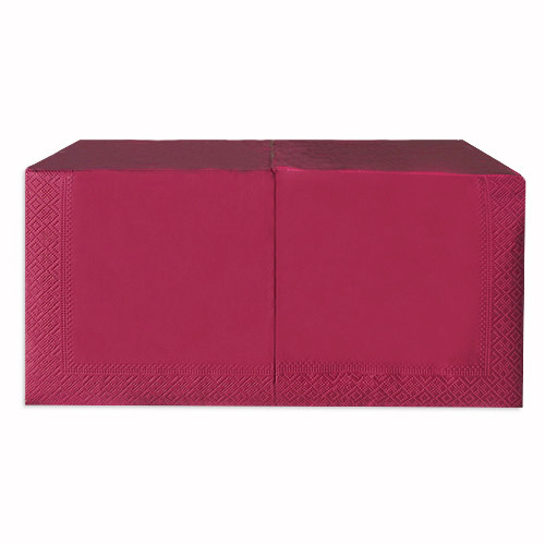 Салфетки бумажные 33*33 двухслойные ЦВЕТНЫЕ (200 шт/уп)