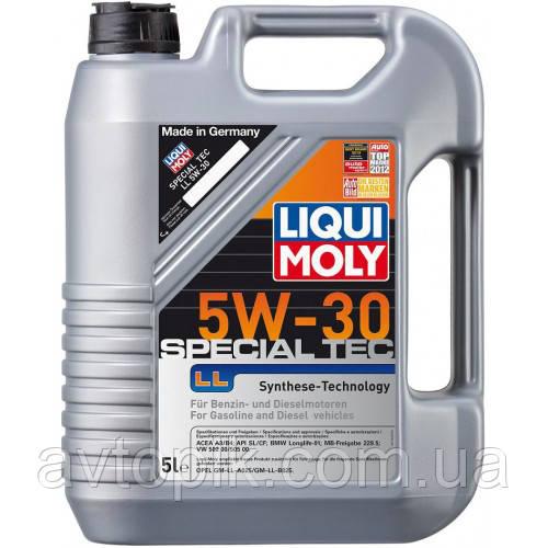 Моторное масло Liqui Moly Special Tec LL 5W-30 (5л.)