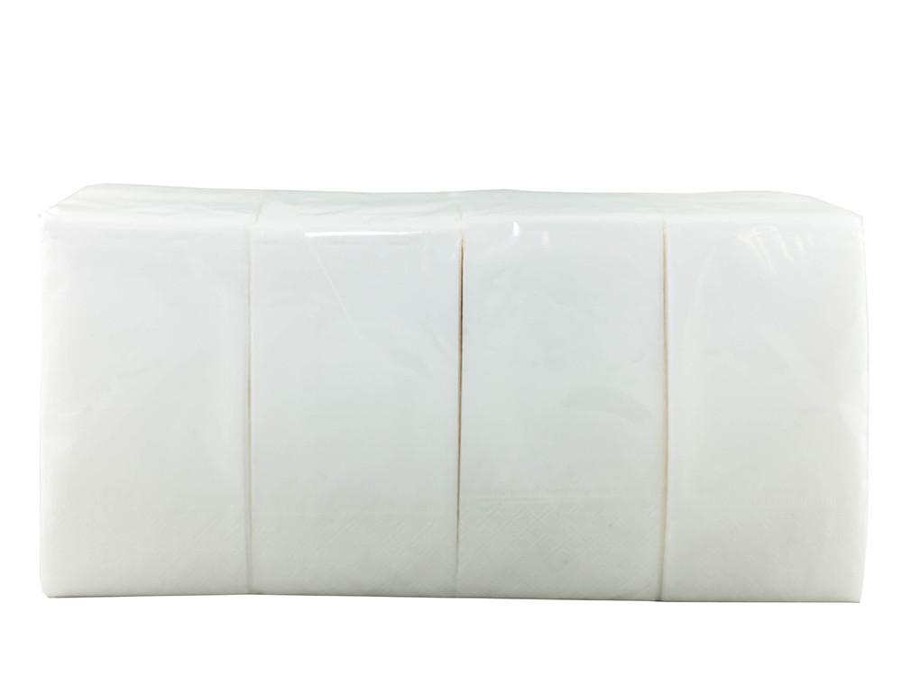 Салфетки бумажные 24*25 двухслойные (2400 шт/ящ)