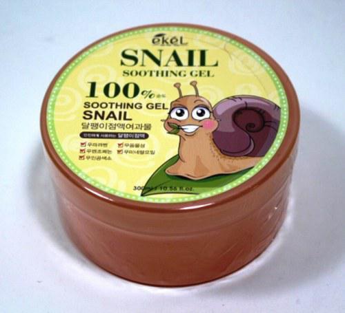 Увлажняющий гель для лица и тела с улиткой Ekel Snail Soothing Gel