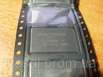 AM29F800BB-70EC AMD TSOP-48 Flash память микросхема 1728MBMАналог: AM29F800BT-55,AM29F800BB-55, AM29F800BT-70