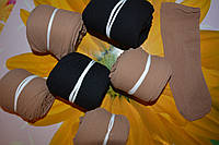 Женские носки, капрон. Бежевые и черные