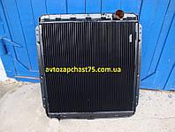 Радиатор Камаз 54115, 4-х рядный (ШААЗ, Россия)