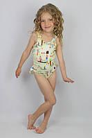 Детский купальник сдельный для девочки