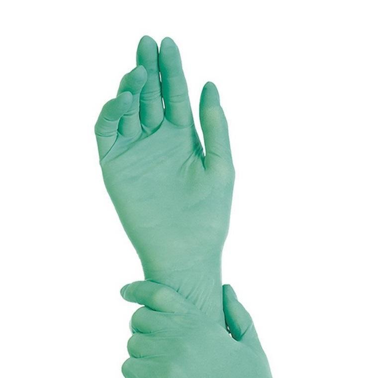Перчатки нитриловые МЯТА  размер M, 100шт
