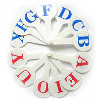 Веер букв:  английский алфавит (Козлов)