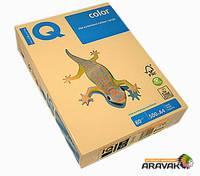 Бумага цветная IQ, А4, 80 г/м2, 500 листов, CR20, кремовый