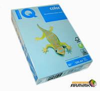 Бумага цветная IQ, А4, 80 г/м2, 500 листов, OBL70, холодный голубой
