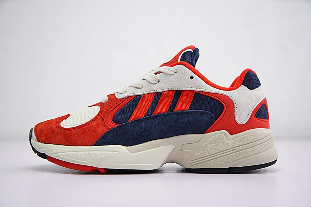 Кроссовки Adidas Yung-1 Red/White (реплика)