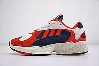 Кроссовки Adidas Yung-1 Red/White (реплика), фото 1