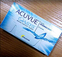 Контактні лінзи Johnson&Johnson, Acuvue Oasys with HYDRACLEAR Plus