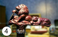 Рукоять трости «Благородство и честь». Резная мебель. предметы декора с элементами резьбы