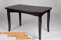 Стол обеденный Леон шпон дуба венге, фото 1
