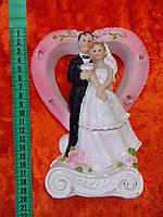 Свадебная статуетка на торт 20 см (1)