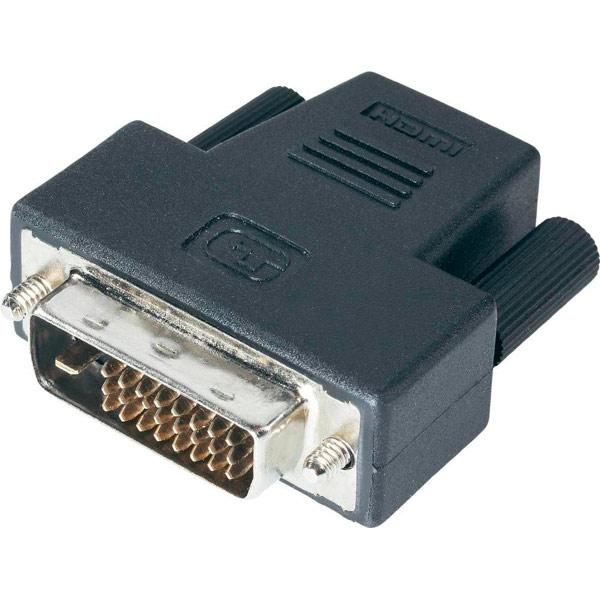 Переходник DVI To HDMIчерный (ADAPTER DVI-HDMI)