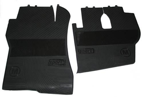 Килимки в салон Actros чорні для вантажівок(6822), фото 2