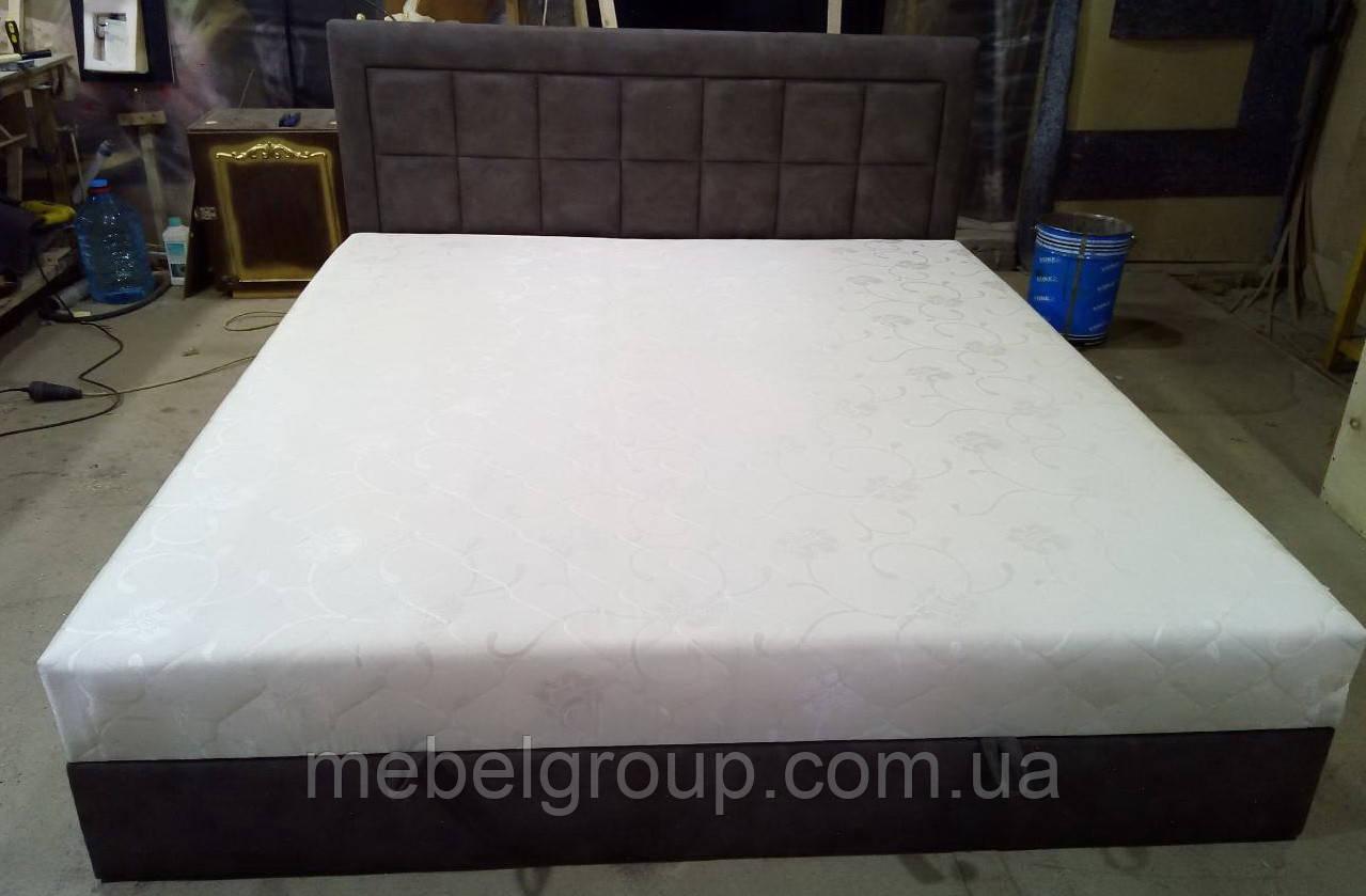Кровать Квадро 180*200 с матрасом