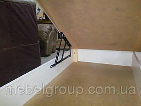Кровать Квадро 180*200 с матрасом, фото 3