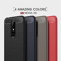 TPU чехол накладка Urban для Nokia 6.1 Plus / X6 2018 (4 цвета)