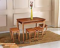 Стол обеденный Смарт  (бук) коньячный, фото 1